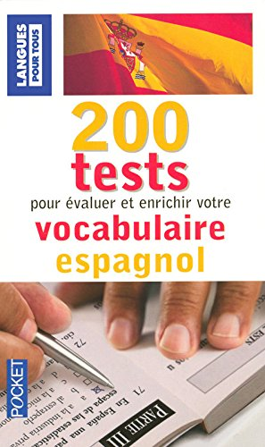 200 tests de vocabulaire espagnol