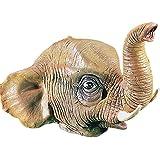 Máscara de Látex Elefante - Un tamaño