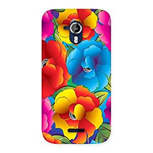 Special Flower Art Print Back Case Cover for Micromax Canvas Magnus A117