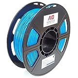 AIO Robotics AIOBLUE PLA 3D Drucker Filament, 0,5 kg Spule, 1,75 mm Durchmesser, Blau