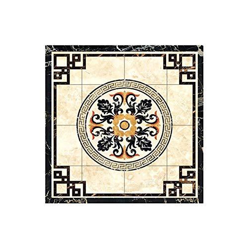 KLMWDDBT Fliesenaufkleber Mini Tile Diagonal Paste Pvc Selbstklebende Wasserdichte Wohnzimmer-bodendekoration 5x5cm XDJ-009 -