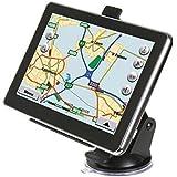 Maxfind 7-pulgadas de pantalla de navegación del GPS del coche 8G 256M HD táctil con una vida útil Mapas y Tráfico