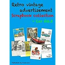 Retro vintage advertisement Scrapbook collection - Car Vol.2