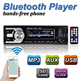 OUTERDO Bluetooth Auto FM-Transmitter Radio MP3 Player Autoradio (PLL-Tuner, 32GB SD-Speicher, USB, Fernbedienung, Bluetooth 4.0)