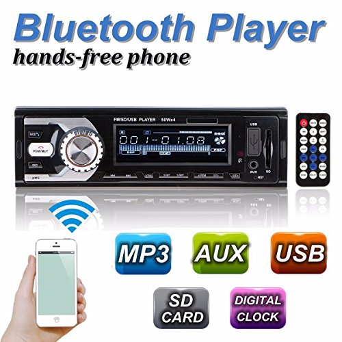 Autoradio Stereo Auto Bluetooth Vivavoce Radio FM USB MP3 AUX 32GB SD Card - Potenza Massima di Uscita 60W X 4 -
