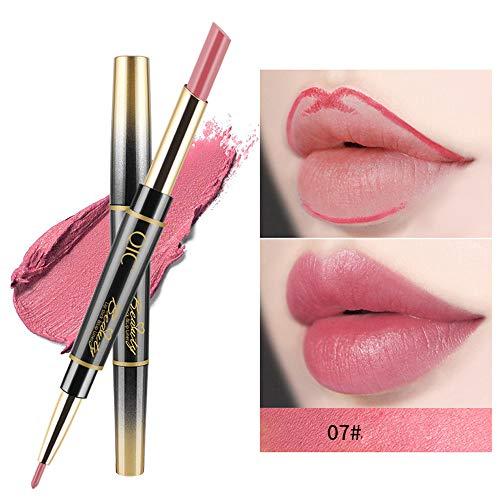 Berrose Lippenstift -14 Farbe Multifunktions Lippenstift-Stift Doppelkopf Dauerhafter Lipliner...