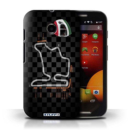 Kobalt® Imprimé Etui / Coque pour Motorola Moto E (2014) / Singapour conception / Série 2014 F1 Piste Hongrie/Budapest
