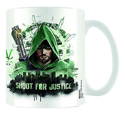 DC-Comics-Arrow-Shoot-For-Justice-Ceramic-Mug