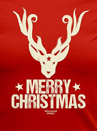 Weihnachten Fun T-Shirt als einzigartiges Weihnachtsgeschenk oder Weihnachts -Markt Advents Outfit Merry Christmas ...