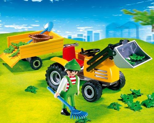 PLAYMOBIL 4486 - Gartentraktor/Anhänger
