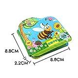 YA-Uzeun Baby Shower Bath English Cartoon Animal Cloth Book Early Educatio Birthday Gifts
