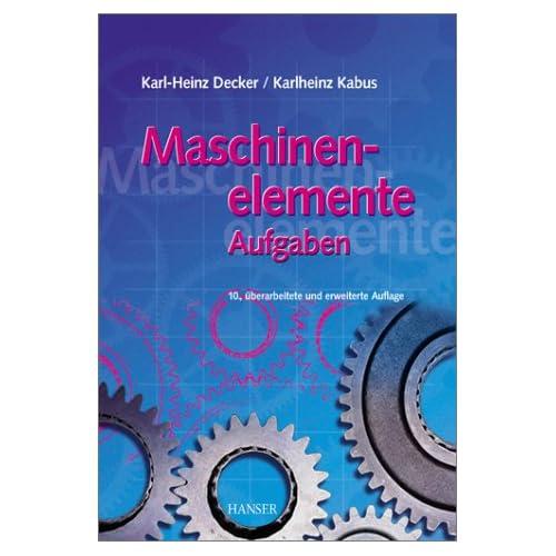 Roloff Matek Maschinenelemente Aufgabensammlung Pdf