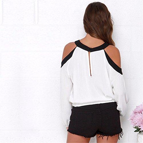 Femmes Occasionnels Epaule Off Noir Cintre Ourlet T-Shirt Haut Maigre Lache Plissee Noir