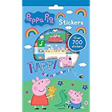 Peppa Pig - Juego de pegatinas, 700 unidades (Anker ANKPESTR)