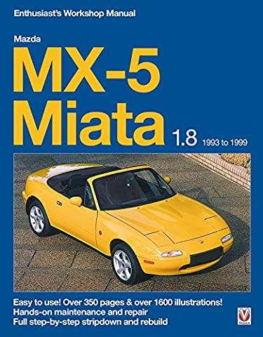 Mazda Mx-5 Miata 1.8 Enthusiast's Workshop Manual: 1993 to 1999