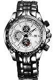 Reloj cuarzo findtime Para Hombre Con  Negro Analogico Y negro 2 Aleación FindtimeSkone7384BG-4