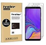 iVoler [Pack de 2] Verre Trempé Compatible avec Samsung Galaxy A9 2018, Film Protection en Verre trempé écran Protecteur vitre