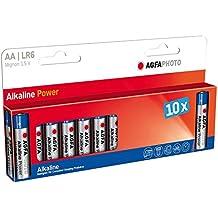AgfaPhoto 70132 LR 6 Mignon AA batería (paquete de 10)