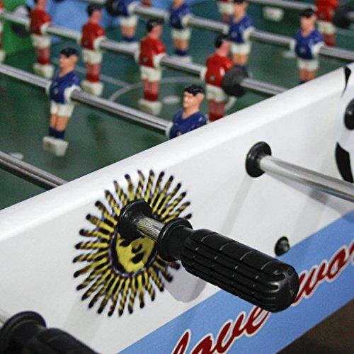 MaltonYO17 2pcs Table Soccer Football Foosball Small Handle Grip for 1 2m Table  Black