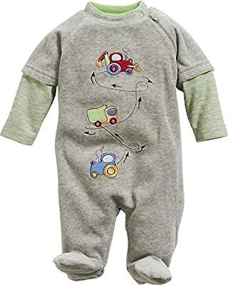 Schnizler Pyjama Overall Tractor/Truck/Digger, Pijama para Bebés