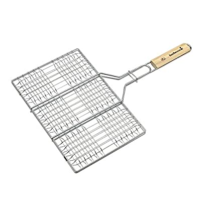 barbecook Grillzubehör, Hamburgergrill, grau, 52 x 3 x 36 cm, 2230927055