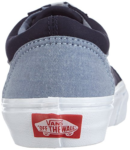 Vans Old Skool, Baskets Basses mixte enfant Bleu - Blau ((T C)DrssBlus/C FN6)