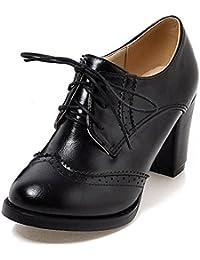 c521db775c0 Amazon.fr   richelieu femme talon   Chaussures et Sacs