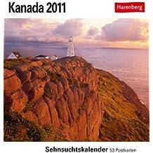 Kanada 2011: Sehnsuchts-Kalender. 53 heraustrennbare Farbpostkarten