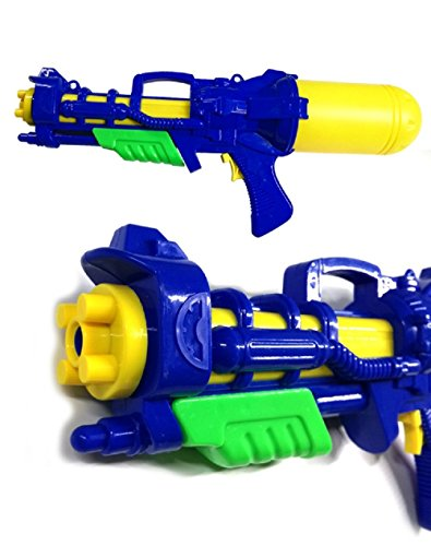 ns Big Super Shoot Soaker Squirt Spiele Wasserpistole Eltern-Kind-Kommunikation,Blue ()