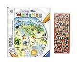 tiptoi Ravensburger Buch - Mein großer Weltatlas + Minions Sticker