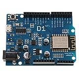 MagiDeal 2X ESP8266 Verwendet IDE-Modul-Entwicklungsboard mit Q98 Wemos D1 Wifi Arduino UNO