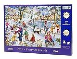 """1000 Piece Jigsaw Puzzle - Trouver les Différences No.9 - Frosty & Friends """"NOUVEAU juillet 2015"""""""