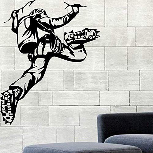 DLYD DIY Design Climber Wall Vinyl Decal Mountaineer Wall Sticker Mountain Landscape Home Interior Bedroom Decor Extreme Wall Decor