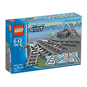 LEGO - City 7895 Trains Switch Tracks 0885324004763 LEGO