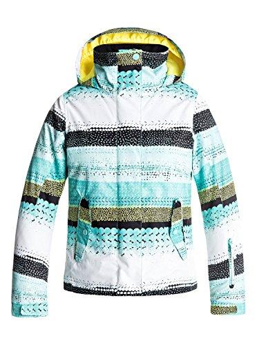Roxy Jetty – Snow Jacket for Girls 8-16 – Snow Jacke – Mädchen 8-16 – Blau | 03613372733697