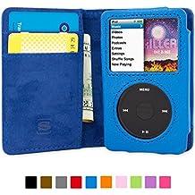 Cover iPod Classic, Snugg Apple iPod Classic Flip Custodia Case [Slot Per Schede] Pelle Portafoglio (Ipod Classic Cover)