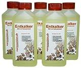 Entkalker Konzentrat (flüssig) für Kaffeevollautomaten und Haushaltsgeräte, 5 x 250ml (1250ml)