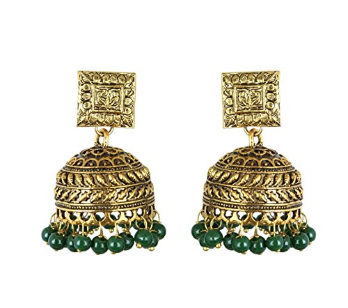 f593e361822b0 Waama Jewels Oxidised Rajwada Fashion Jewellery Earrings Unique ...