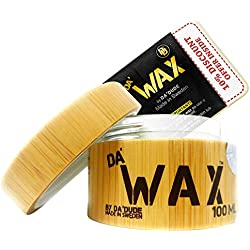 Da'Dude Da'Wax Cire Coiffante Cire Capillaire Ultra Forte et Modelage avec Maintien et Fixation - Effet Mat - Coffret bois cadeau Délux - 100 ml