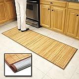 Bamboo Floor Mat 24'' x 72'' by Bamboo