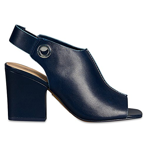 Marks & Spencer AUTOGRAPH T021723 Leather Angular Heel Sandals with Insolia® RRP...