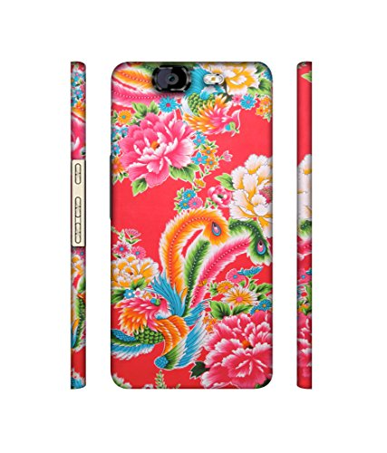 Casotec Cute Floral Pattern Print Designer 3D Printed Hard Back Case Cover for Micromax Canvas Knight A350