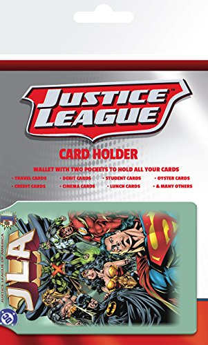 GB Eye LTD, DC Comics, Justice League, Porte Carte