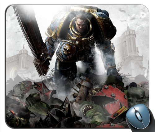Custom Warhammer 40k Space Marine v4.Mouse Pad g4215 Office Space Mouse Pad