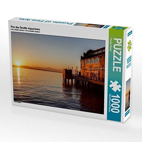 Pier des Seattle Aquariums 1000 Teile Puzzle quer (CALVENDO Orte) - Holz-thomas Aquarium