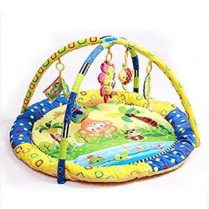 JYSPORT Baby Playmat Activity Gym Animal Paradise Plush Toy Activity Mat Crawling Pad Game Blanket