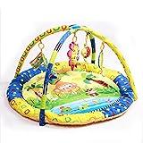 JYSPORT Baby Elefant Spielen Matte Kinder kriechen Animal Play Vorleger Kinder Soft Plüsch Teppich Fenster Pad (Fox)