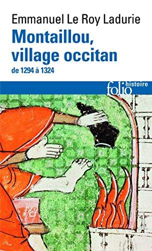 Montaillou, village occitan de 1294  1324