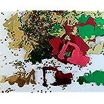 Trucks & Diggers Themed Table Confetti - Construction Vehicle Themed Table Confetti, Table Sprinkles