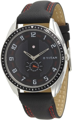 Titan Youth Analog Black Dial Men's Watch - NE1582KL02